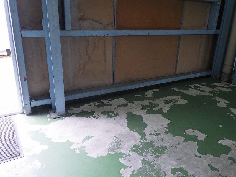 T様事務所床改修塗装工事