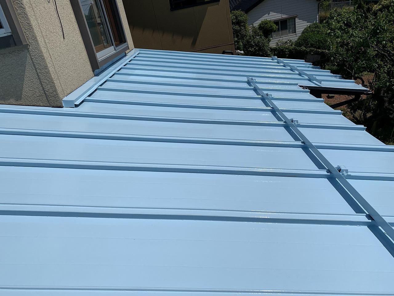 Y様邸屋根遮熱塗料塗装